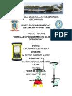 274323289 Informe Gps Diferencial PDF