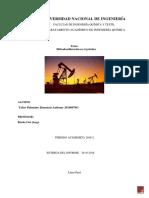 trabajo de investigación hidrodesulfuración