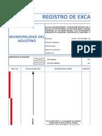 registro de excavacion