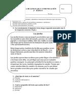 EVALUACION 2 LENGUAJE Textos Informativos