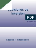 Capítulo N° 1 Introducción a Decisiones de Inversión.ppsx