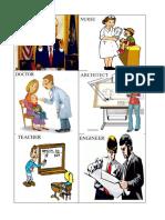PROFESIONES EN INGLES