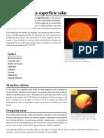 Fenómenos de La Superficie Solar