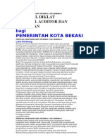 Proposal Pelatihan Audit Internal
