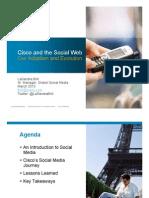 Cisco and Social Web Adoption