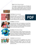 Calendario Civico 2018 Info e Imagenes