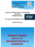 1. Introduccion a La Ing. Mecanica Primera Semana