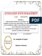 Attestation D_encouragement (1)