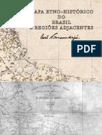 CURT NUMUENDAJU Mapa etnohistorico