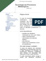 IFRS Tecnologia Em Processos Metalúrgicos