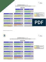 Calendario General 2012 13