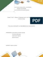 Unidad 2_Fase 3 Propuesta Social_ Grupo220
