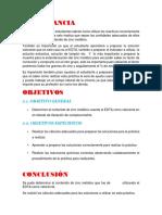 Estandarización Del Zinc Metalico