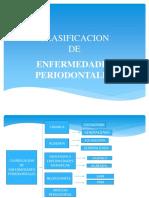 Clasificacion de Enfermedades Periodontales