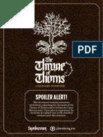 Symbaroum - Throne of Thorns