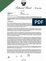 RESOLUCION TRIBUNAL FISCAL Nº 00012-3-2009