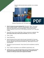 Calibration Steps2 Procedure TVA2020