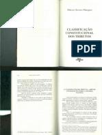 Classificação Constitucional dos Tributos - Márcio Severo Marques