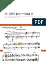 Música Ricercata IX