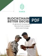 HARA Token White Paper v20180923