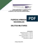 delitos militares