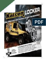 kaiser locker
