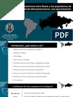Trabajo RELACIONES INTERNACIONALES RUSIA-AMÉRICA LATINA PPT