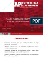 4. La Investigacion Cientifica Uap 2018-1