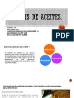 Analisis de Aceites