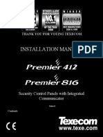 Premier 816 Installation Manual - Iss 06