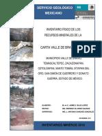 Carta Valle de Bravo e14-A46.Geologia.terreno