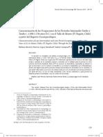 Caracterizacion de las ocupaciones de los periodos intermedio tardio y tardio. Rivera et al 2014