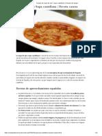 Receta de Sopa de Ajo o Sopa Castellana _ Receta de Sergio
