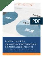 Proiect Bazele Statisticii