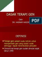 Dasar Terapi Gen