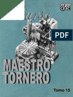 Curso Maestro Tornero - Tomo 15