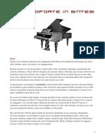Il Pianoforte in Sintesi