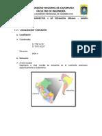 Planificasion Urbana Informe