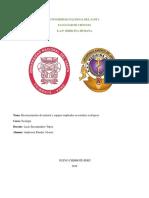 Reconocimiento de Material y Equipos Empleados en Estudios Ecológicos