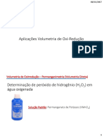 Aplicaes de Volumetria de Oxi-Reduo