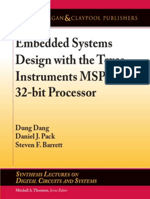 Embedded Systems Design | Arm Architecture | Microcontroller