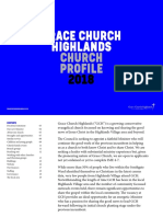Grace Church Highlands - Chruch Profile 2018