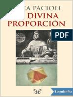 La divina proporcion - Luca Pacioli.epub