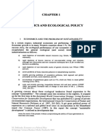 Economics and Ecological Policy