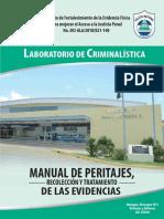 Manual de Peritajes, Laboratorio de Criminalística de Las Evidencias Recolección y Tratamiento