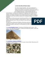 Las Siete Maravillas del Mundo Antiguo - copia.docx