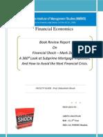 Financial Crisis - Mark Zandi ( Book Review )