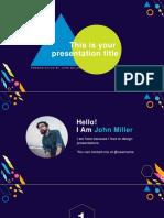 Creative Free Powerpoint Presentation Template