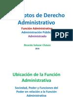 SESION 6 Funcion Administrativa Administracion Publica Administrado Ricardo Salazar Chávez