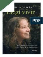 Daniela Garcia Elegi Vivir
